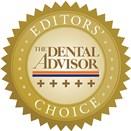 Editors' Choice Dental Advisor 5.0 Rating