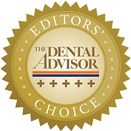 Editors' Choice Dental Advisor 5.0 Rating