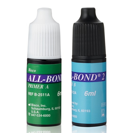 All-Bond 2 is a 4th generation dental adhesive.  Primer A & B are available in two different bottles.
