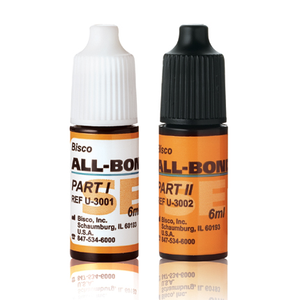 All-Bond SE is a 6th generation self-etching adhesive.  Parts I &II are available in two different bottles.