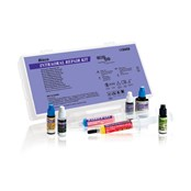 This kit includes bottles of Z-Prime Plus, Porcelain Primer, Opaquer base & catalyst and Porcelain Bonding Resin and syringes of Barrier Gel and HF Acid Etch.