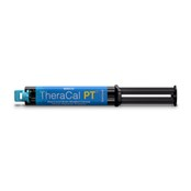 TheraCal PT is available in an auto-mix dual-syringe and is indicated for pulpotomies.