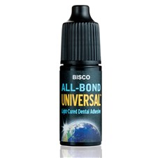 All-Bond Universal is a light-cure universal dental adhesive.  Available in a 6ml bottle.