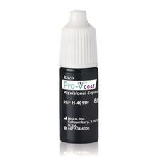 Pro-V Coat prohibits bonding of the provisional to the adhesive.  It is available in a bottle.